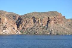 Apache Lake in Arizona Stock Photos