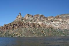 Apache Lake Cliffs 2 Stock Image