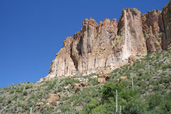 Apache Lake Cliffs Stock Images