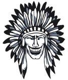 Apache sorridente Immagini Stock