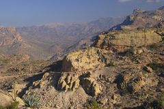 Apache Trail. In Tortilla Flat Mountains, Arizona stock image