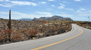 Apache trail Stock Image