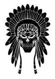 Apachehoofd Royalty-vrije Stock Afbeelding