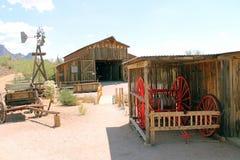 Apacheland lontano lontano Fotografia Stock