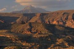 Apachesleep, het Nationale Bos van Tonto Royalty-vrije Stock Foto's