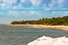 Apaga-fogo plaża Obraz Royalty Free