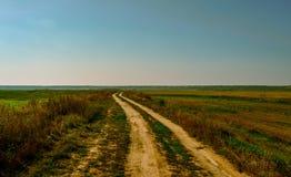 Apagado-caminos en Rumania Foto de archivo libre de regalías