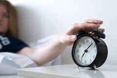 Apagar el reloj de alarma fotos de archivo libres de regalías