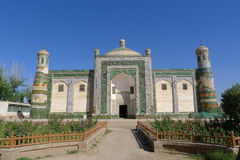Apak Hoja Mazzar, túmulo assim chamado de Xiangfei Imagens de Stock