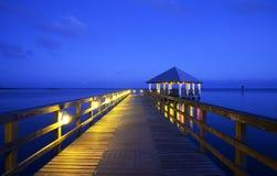 Apalachicola στη Φλώριδα, ΗΠΑ Στοκ Φωτογραφία