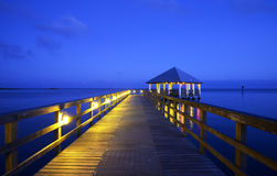 Apalachicola en Floride, Etats-Unis photographie stock