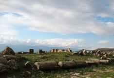 Apamea - είναι ένα ίχνος παλαιάς ισχύος και λάμπει Στοκ Φωτογραφίες