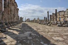 Apamea - alte Ruinen Lizenzfreie Stockfotografie