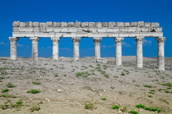 Apamea ruins in Syria Royalty Free Stock Photos