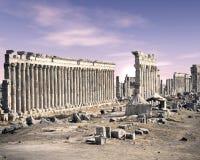 Apamea, Siria Foto de archivo libre de regalías