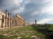 Apamea before a thunder-storm royalty free stock images