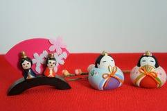 Apanese lal festiwal dla dziewczyn i Hinamatsuri, Zdjęcie Stock