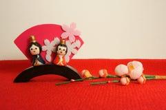 Apanese lal festiwal dla dziewczyn i Hinamatsuri, Obraz Stock
