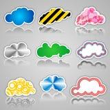 Bastone di calcolo della nuvola Fotografie Stock Libere da Diritti