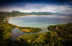 Aparência de arredores de Baracoa, Cuba fotos de stock royalty free