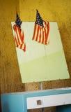 Aparador patriótico Imagenes de archivo