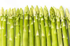 Aparagus. Green asparagus fresh from the farm Stock Images