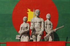 Aparajeyo-bangla in Dhaka Stockbilder