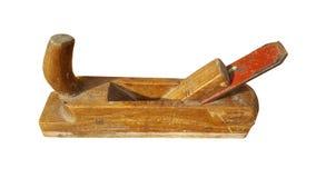Aparas após o aplanamento da madeira imagem de stock