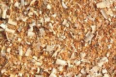 Aparas de madeira foto de stock royalty free