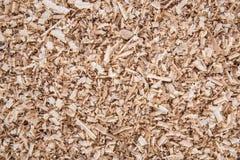 Aparas de madeira do carvalho e o pinho, o fundo e a textura Imagem de Stock