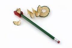 Aparas do lápis Foto de Stock Royalty Free