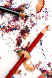 Aparas do lápis isolados Foto de Stock Royalty Free