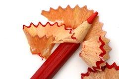 Aparas do lápis isolados Imagem de Stock Royalty Free