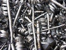Aparas do metal imagens de stock