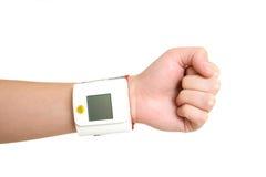 Aparato de medición de la presión arterial foto de archivo libre de regalías