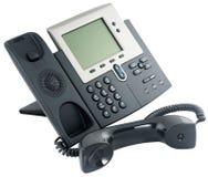 Aparato de teléfono de Digitaces, off-hook Fotografía de archivo