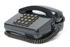 Aparato de teléfono del color negro fotografía de archivo libre de regalías