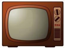 Aparato de TV Retro Fotografía de archivo