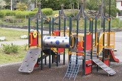 Aparato del patio de los niños Imagen de archivo libre de regalías