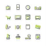aparato electrodoméstico Verde-gris
