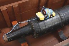 Aparato explosivo improvisado IED del proyectil del tanque Imagen de archivo