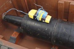 Aparato explosivo improvisado IED del proyectil del tanque Fotografía de archivo