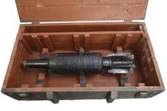 Aparato explosivo improvisado IED del proyectil del tanque Fotografía de archivo libre de regalías