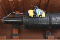 Aparato explosivo improvisado IED del proyectil del tanque Fotos de archivo