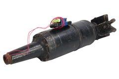 Aparato explosivo improvisado IED del proyectil del tanque Foto de archivo