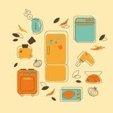 Aparatos electrodomésticos Fotos de archivo libres de regalías
