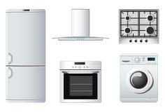 Aparatos electrodomésticos | cocina Imágenes de archivo libres de regalías