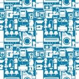 Aparatos electrodomésticos inconsútiles Imágenes de archivo libres de regalías
