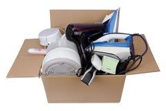 Aparatos electrodomésticos quebrados imagenes de archivo