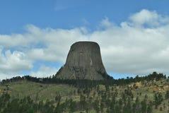 Aparecimento da torre do ` s do diabo Foto de Stock Royalty Free